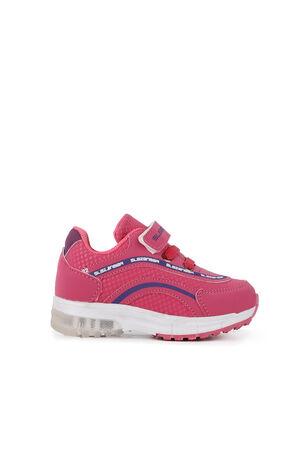 Slazenger - Slazenger EGG Sneaker Kız Çocuk Işıklı Taban Ayakkabı Fuşya