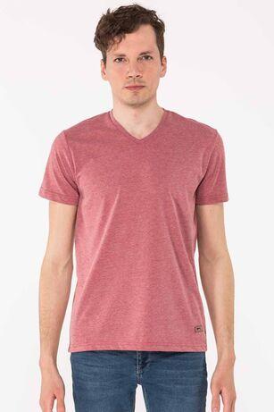 Slazenger - Slazenger KALEY Erkek T-Shirt Bordo
