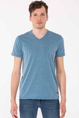Slazenger - Slazenger KALEY Erkek T-Shirt Petrol