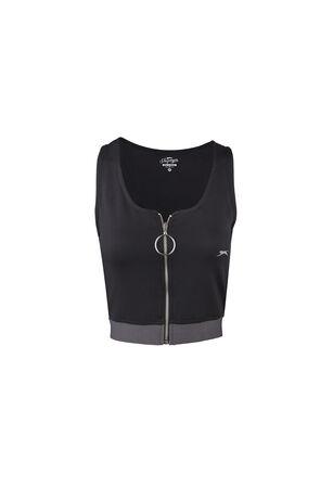 Slazenger - Slazenger PRO FIT Kadın T-Shirt Siyah