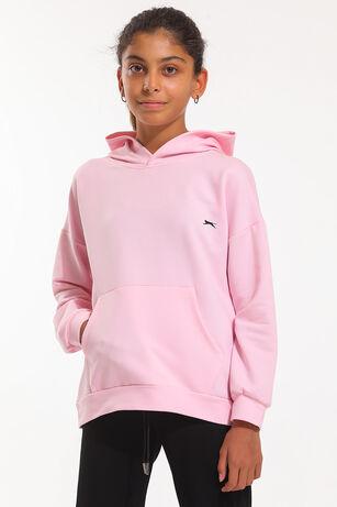 Slazenger - Slazenger DEE Kız Çocuk Sweatshirt Pembe