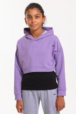 Slazenger - Slazenger DUA Kız Çocuk Sweatshirt Lila