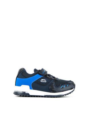 Slazenger - Slazenger EDMOND Sneaker Erkek Çocuk Ayakkabı Lacivert Kamuflaj
