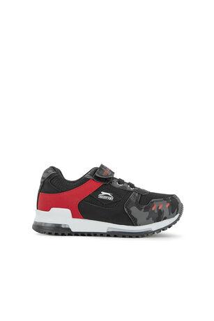 Slazenger - Slazenger EDMOND Sneaker Erkek Çocuk Ayakkabı Siyah Kamuflaj