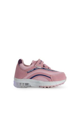 Slazenger - Slazenger EGG Sneaker Kız Çocuk Işıklı Taban Ayakkabı Pembe