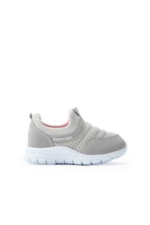 Slazenger - Slazenger EVA Sneaker Kız Çocuk Ayakkabı Gri / Pembe