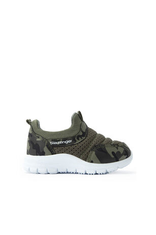 Slazenger - Slazenger EVA Sneaker Erkek Çocuk Ayakkabı Haki Kamuflaj