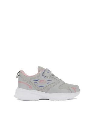 Slazenger - Slazenger KEEP Spor Kız Çocuk Ayakkabı Gri / Pembe