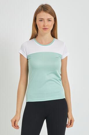 Slazenger - Slazenger RANDERS I Kadın T-Shirt Yeşil