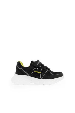 Slazenger - Slazenger REBEL Sneaker Erkek Çocuk Ayakkabı Siyah / Sarı