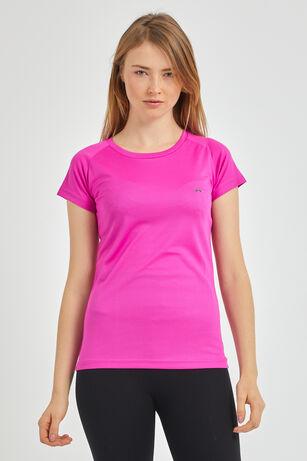 Slazenger - Slazenger RELAX Kadın T-Shirt Fuşya