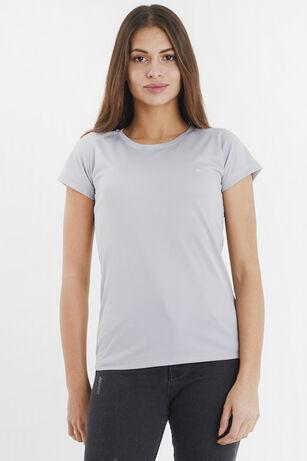 Slazenger - Slazenger RELAX Kadın T-Shirt Gri