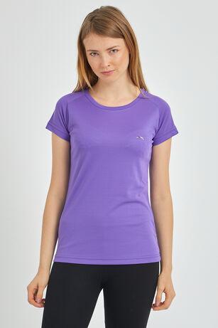 Slazenger - Slazenger RELAX Kadın T-Shirt Mor