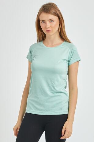 Slazenger - Slazenger RELAX Kadın T-Shirt Nane