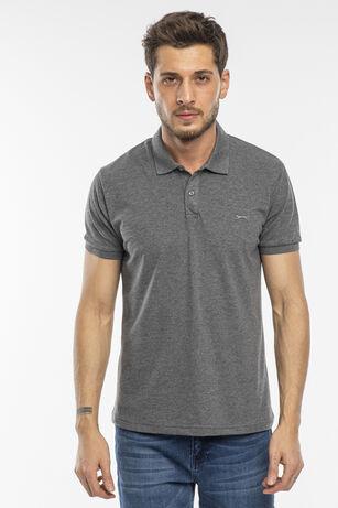 Slazenger - Slazenger SALVATOR Erkek T-Shirt Antrasit
