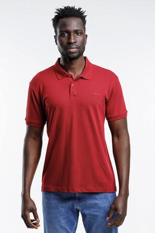 Slazenger - Slazenger SALVATOR Erkek T-Shirt Bordo