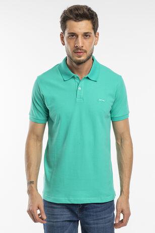 Slazenger - Slazenger SALVATOR Erkek T-Shirt Yeşil