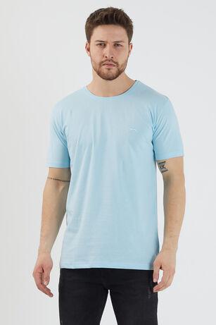 Slazenger - Slazenger SANDER Erkek T-Shirt A.Mavi