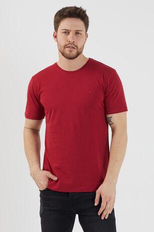 Slazenger - Slazenger SANDER Erkek T-Shirt Bordo