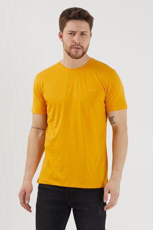 Slazenger - Slazenger SANDER Erkek T-Shirt Hardal