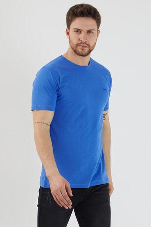 Slazenger - Slazenger SANDER Erkek T-Shirt Mavi
