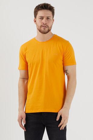 Slazenger - Slazenger SANDER Erkek T-Shirt Turuncu