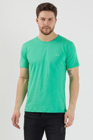 Slazenger - Slazenger SANDER Erkek T-Shirt Yeşil