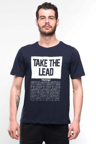 Slazenger - Slazenger SCORE Erkek T-Shirt Lacivert