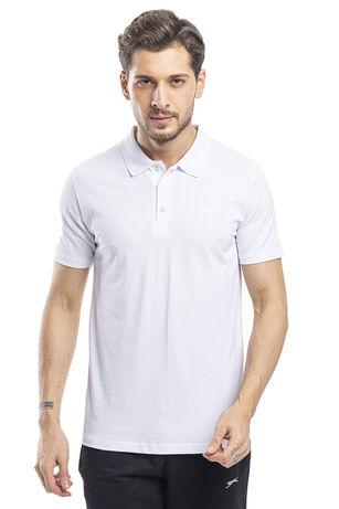 Slazenger - Slazenger SOHO Erkek T-Shirt Beyaz