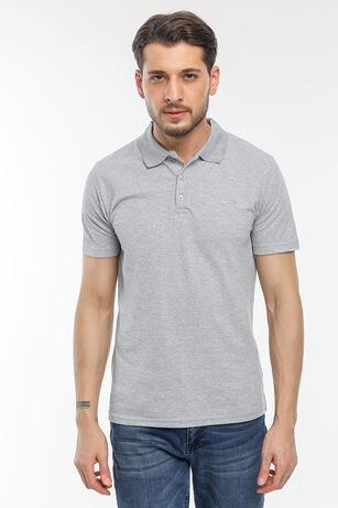 Slazenger - Slazenger SOHO Erkek T-Shirt Gri