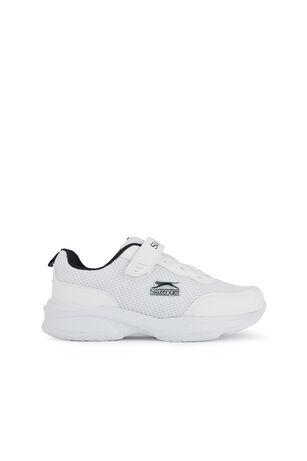 Slazenger - Slazenger SPACE Sneaker Erkek Çocuk Ayakkabı Beyaz / Lacivert
