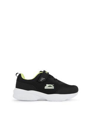 Slazenger - Slazenger SPACE Sneaker Erkek Çocuk Ayakkabı Siyah / Sarı
