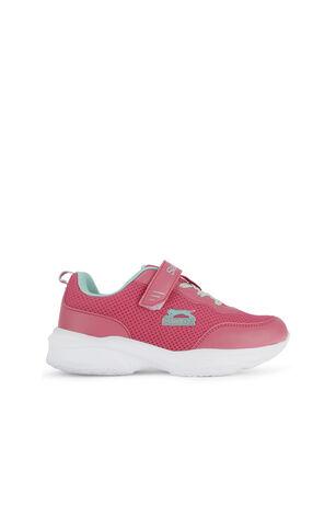 Slazenger - Slazenger SPACE Sneaker Kız Çocuk Ayakkabı Fuşya / Yeşil