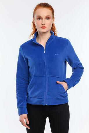 Slazenger - Slazenger SOUL I Kadın Polar Saks Mavi